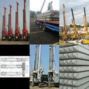 Pancang Paku Bumi, Alat In Jack Hydraulic, Diesel Hammer, Drop Hammer, Tiang Beton Pracetak K500.