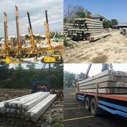 Tiang Pancang Beton, In Jack Hydraulic, Diesel Hammer, Drop Hammer, Beton Pracetak Prestressed K500.