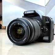 Kamera Canon Eos 1000D Fullset Lensa Kit