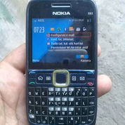 Nokia E63 Kamera Ada Wifi Normal