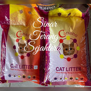 Pasir Kucing Gumpal Wangi Cat Litter Canano 10L