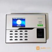 Mesin Absensi Sidik Jari Fitur Wifi Dan Support ADMS MBB 800 Murah