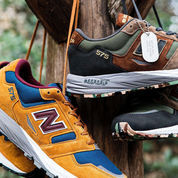 New Balance MTL575SO - Made In England Tan/Blue