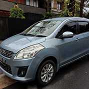 Suzuki Ertiga GL 2012 MT Biru Muda Low KM Siap Gas