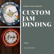 JAM DINDING / JAM MURAH / JAM DINDING CUSTOM