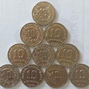 Uang Logam Kuno 10 Rupiah Th 1971.