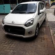 Daihatsu Ayla X Matic Resfonsif 2014 Putih 100%Ori