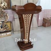 Podium Ceraamah Ukiran Batik 7010