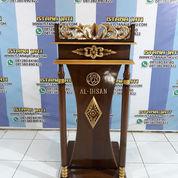 Podium Ceramah Sisi Tongkat 7902