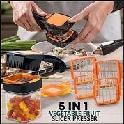 Nicer Dicer Quick 5 In 1 New Alat Pemotong Serbaguna Potong Sayur Multifungsi