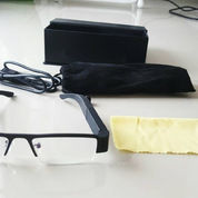 Spy Glasses kamera 720P HD High Resolution Hitam