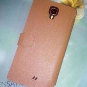 Sarung HP Leather Flip Case Axioo VENGE AX5 Kulit Asli (BARU)