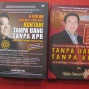 1 Set 2 Buku Ttg 6 Bulan Bisa Beli & Strategi MembeliProperti Kontan Tanpa Uang &Tanpa KPR