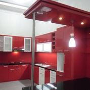 Kitchen Set Minimalis Bahan Multipleks HPL