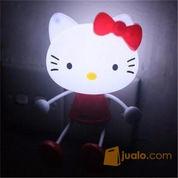 Lampu Hello Kitty Colok Listrik Sensor Cahaya Malam