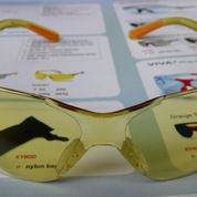 Kaca mata King'S ky 218F,safety eyewear amber glass king ky218F,