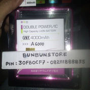 BATERAI LENOVO A6000+ plus DOUBLE IC DOUBLE POWER 4000mah