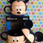 Mug/Gelas Kepala Hello Kitty,Mickey Mouse,Kerropi.