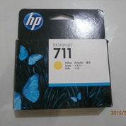cartridge hp 711 yellow