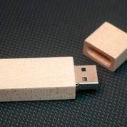 Flashdisk Kayu Kotak FDWD01 4gb