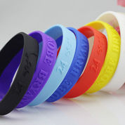 rubber wrist band Gelang tanpa sambungan