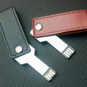Usb Flashdisk swivel kulit 4GB