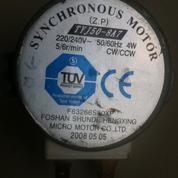 Synchronous AC Motor 220 VAC - 6 RPM