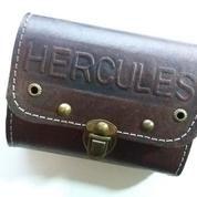 Tas sadel kulit merk hercules cocok juga untuk semua sepeda