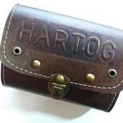 Tas sadel kulit merk hartog cocok juga untuk semua sepeda