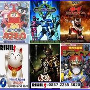 Kaset Film Tokusatsu (Power Ranger, Super Sentai, Kamen Rider, Ultraman)