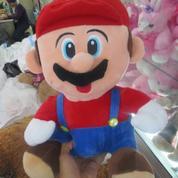 Boneka game & film kartun serial & bioskop Mario Bros grade super ORI SNI murmer ecer & grosiran