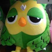 Boneka mainan anak Burung Hantu Si Owl grade super ORI SNI murmer M XL