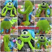 Boneka Monster Mata Satu Hijau Film bioskop Monster Inc.grade ORI SNI