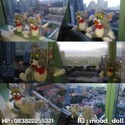 Boneka karakter Si Kucing Nakal serial kartun TOM AND JERRY grade SNI