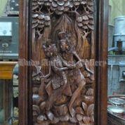 Relief Rama Shinta Ukiran 3D Kayu Suar # 19
