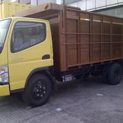 MITSUBISHI COLT DIESEL CANTER FE 74 HD 125 Ps NEW BAK KAYU RANGKA BESI