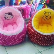 Kursi Atau Sofa Printing Empuk Hello Kitty & Winnie The Pooh SNI Murah