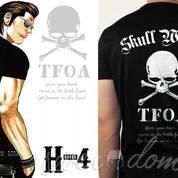 Kaos, Kaos Pria, Kaos Crows Zero TFOA H-4