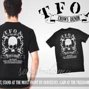 Kaos, Kaos Pria, Kaos Crows Zero TFOA H-5
