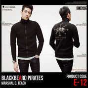 Jaket One Piece BlackBeard Pirates E-12