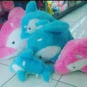Boneka mainan anak Si hewan Lumba Lumba (dolphin) grade SNI NEW murmer