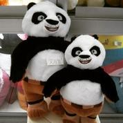 Boneka hewan Panda tambun&lucu tokoh kartun Kungfu Panda SNI NEW murah
