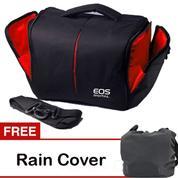 Tas kamera samping Kode T EOS (GRATIS RAIN COVER)