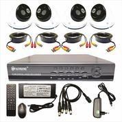 Paket 4 Channel CCTV Supreme K04D4