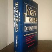 Kamus New Rogets Dictionary For / ormanLewi / riginal