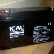 Aki 120AH VRLA Deep Crycle Gel, Baterai 120A 12V Merk Ical Murah di Jakarta Selatan