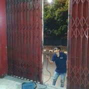 Biaya service/reparasi pintu harmonika & Rolling door Jakarta Selatan