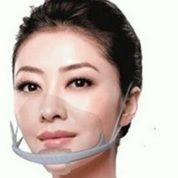 Masker Penutup Mulut Transparan,Plastic Transparent Mask