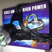 Senter kepala / Headlamp Cree XML T6 (2 batree)