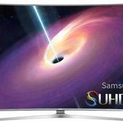 "Samsung 65"" SUHD 4K Curved Smart TV JS9000 FREE ONGKIR , DVD , BRACKET"